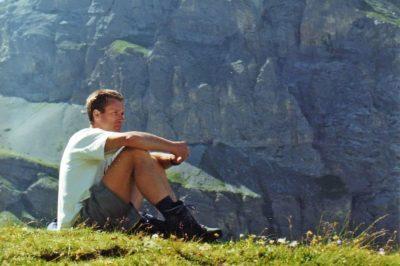 Peter Hellwig Blick in die Berge